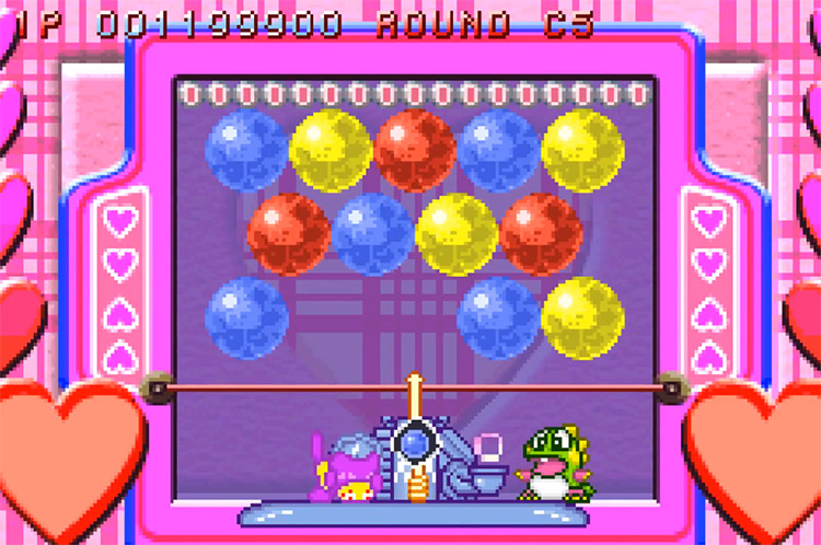 Super Bust-A-Move - GBA Screenshot