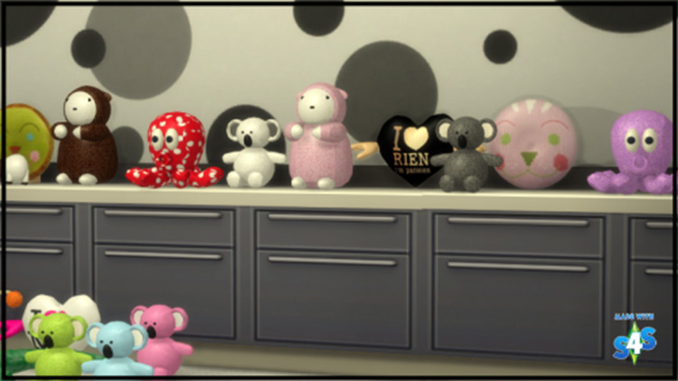 Toy Collection CC Mod for The Sims 4