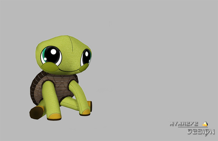 Turtle Stuffed Animal Sims 4 CC - TS4
