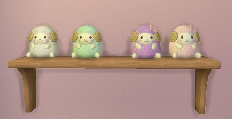 Sheep Stuffed Animal - Sims 4 CC