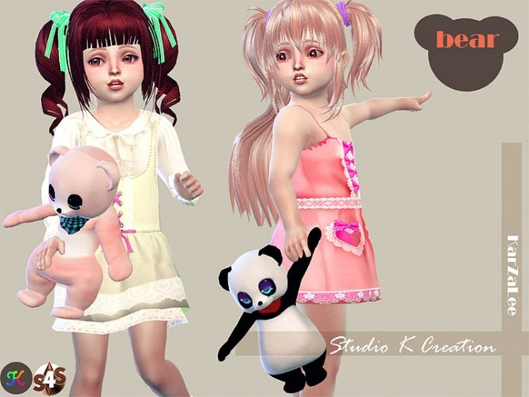 Teddy Bear For Toddlers - Sims 4 CC