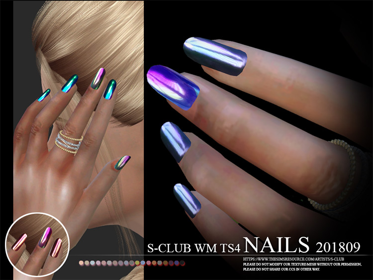 WM Nails 201809 Holographic-Style CC