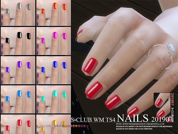 WM Nails 11-swatch set TS4