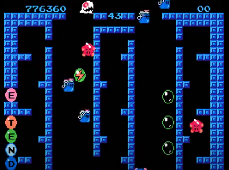 Bubble Bobble NES Screenshot