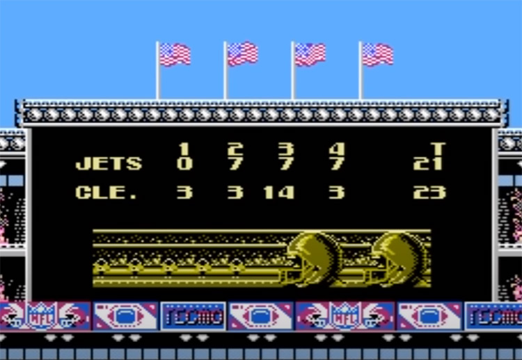 Tecmo Super Bowl - NES Screenshot