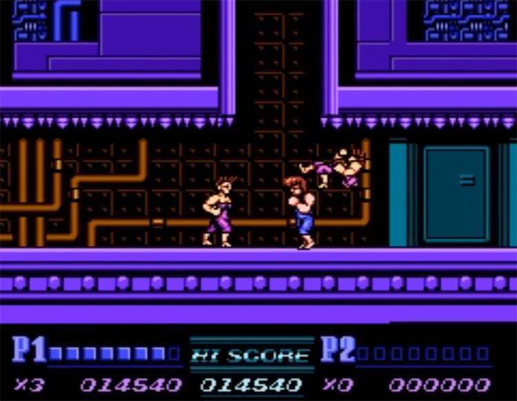 Double Dragon II: The Revenge - NES Screenshot
