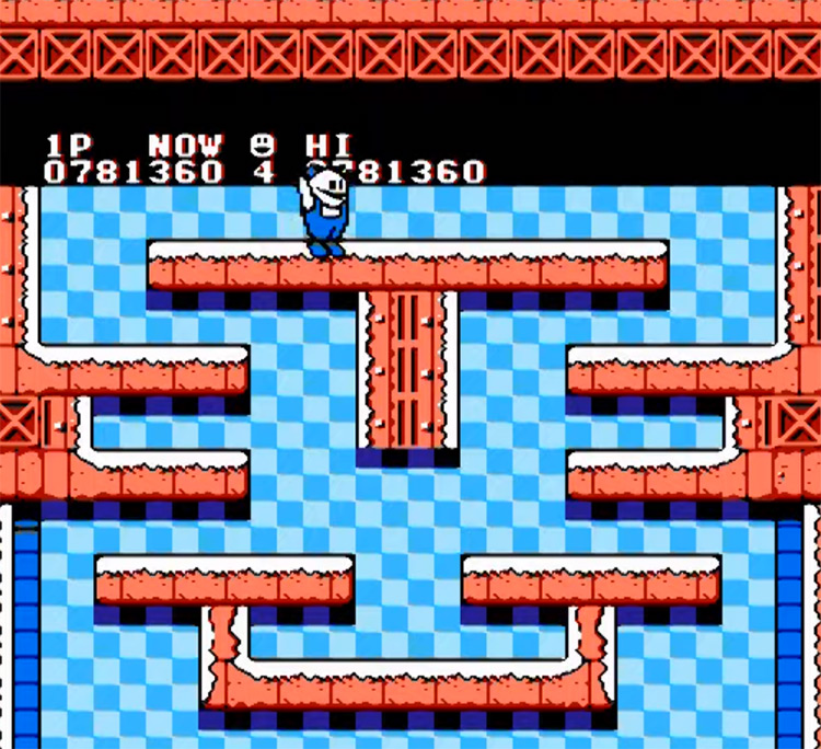 Snow Brothers - NES Screenshot
