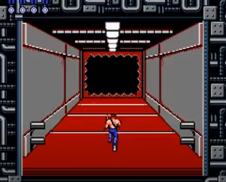 Contra - NES Screenshot