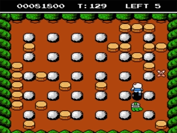 Bomberman II on NES - Screenshot