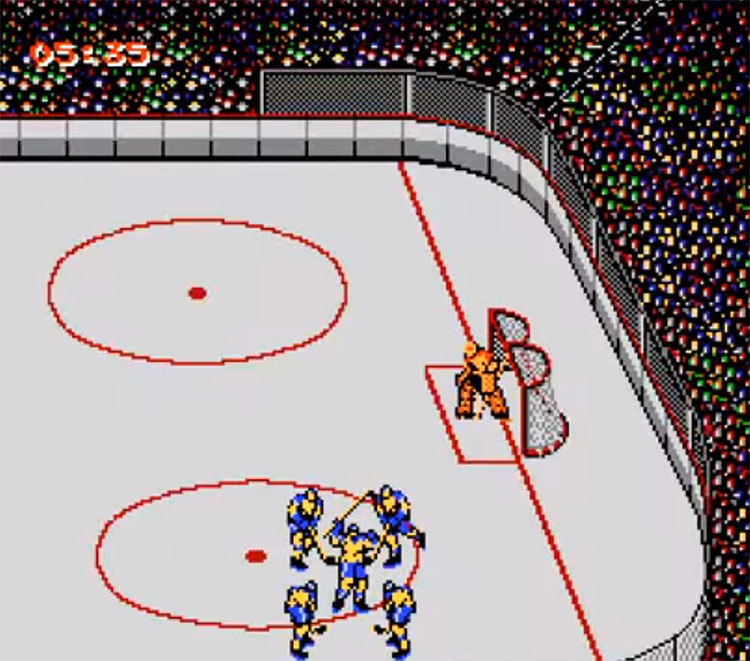 Blades of Steel - NES screenshot