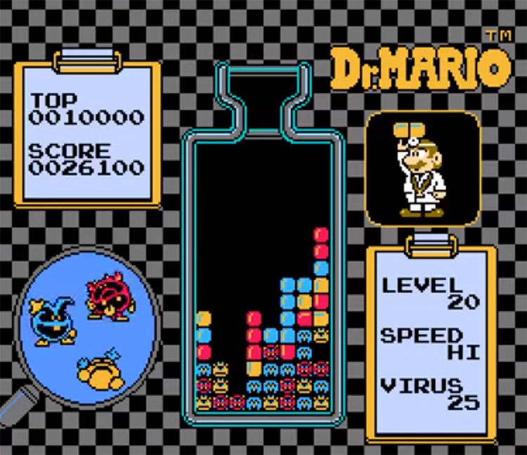 Dr. Mario for NES