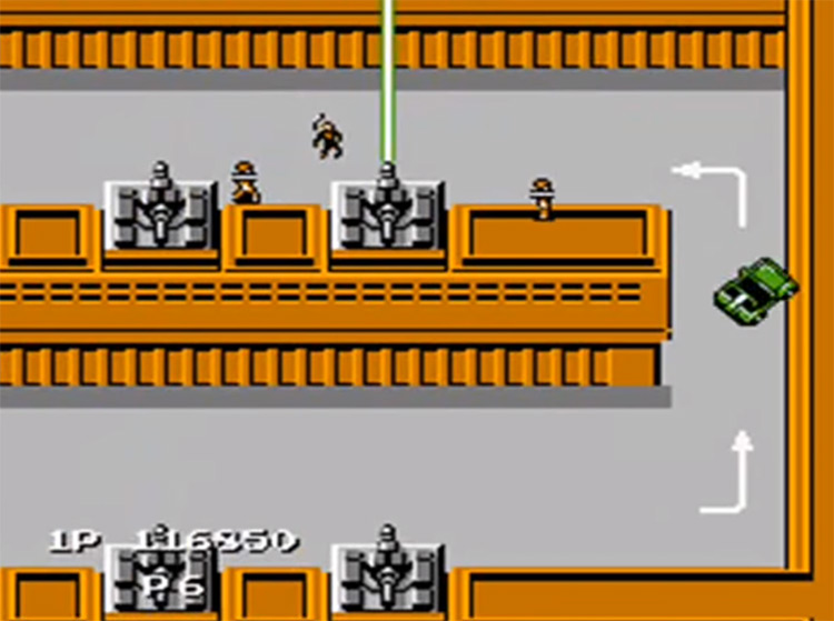 Jackal NES gameplay