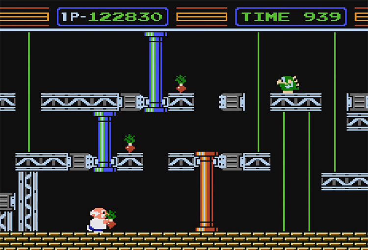 Gyronmite NES gameplay screenshot