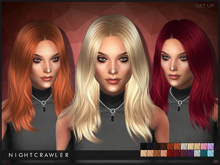 GetUp Hair - Sims 4 CC