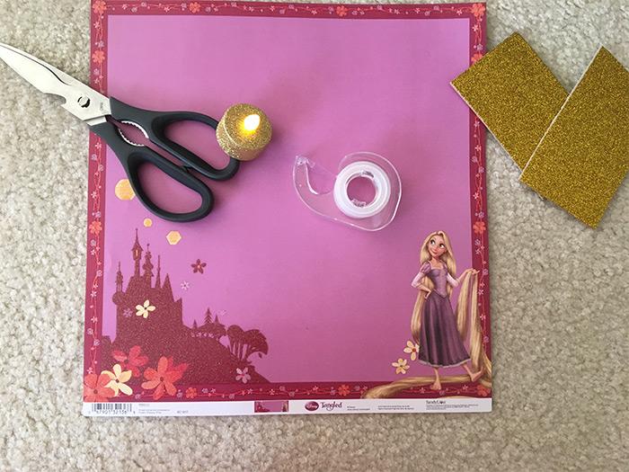 pink tangled lantern craft