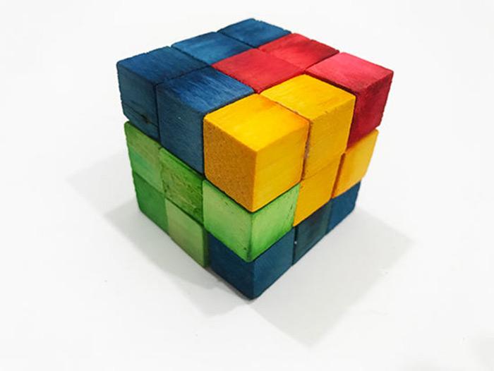 diy tetris puzzle cube