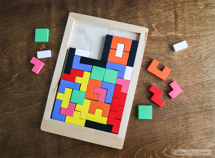 custom tetris game design