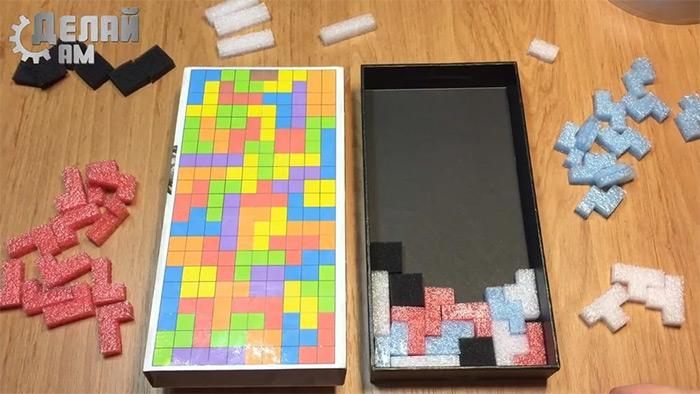 custom diy tetris 3d