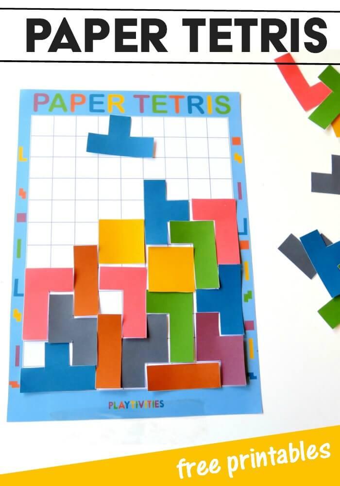Paper tetris project