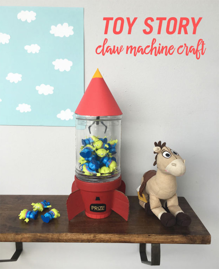 DIY claw machine toystory