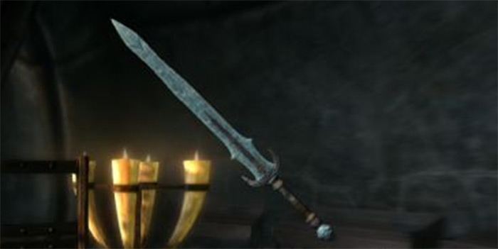Stalhrim greatsword from skyrim