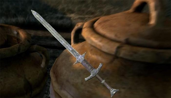 Stormfang skyrim sword