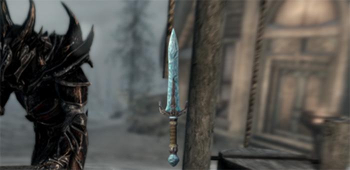 Stalhrim dagger skyrim