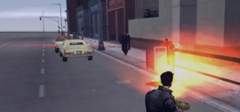 Flamethrower rampage gta3