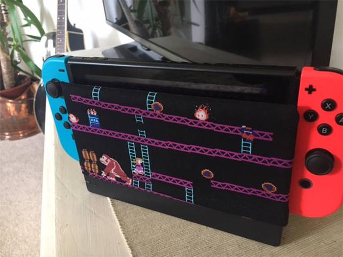 DK retro Nintendo Switch cover