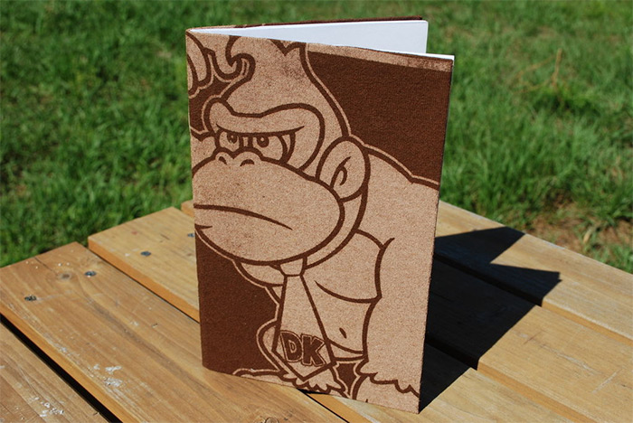 Recycled Donkey Kong journal
