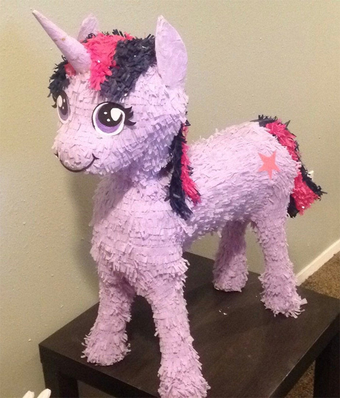 MLP pinata diy project