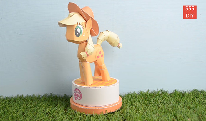 DIY MLP papercrafts