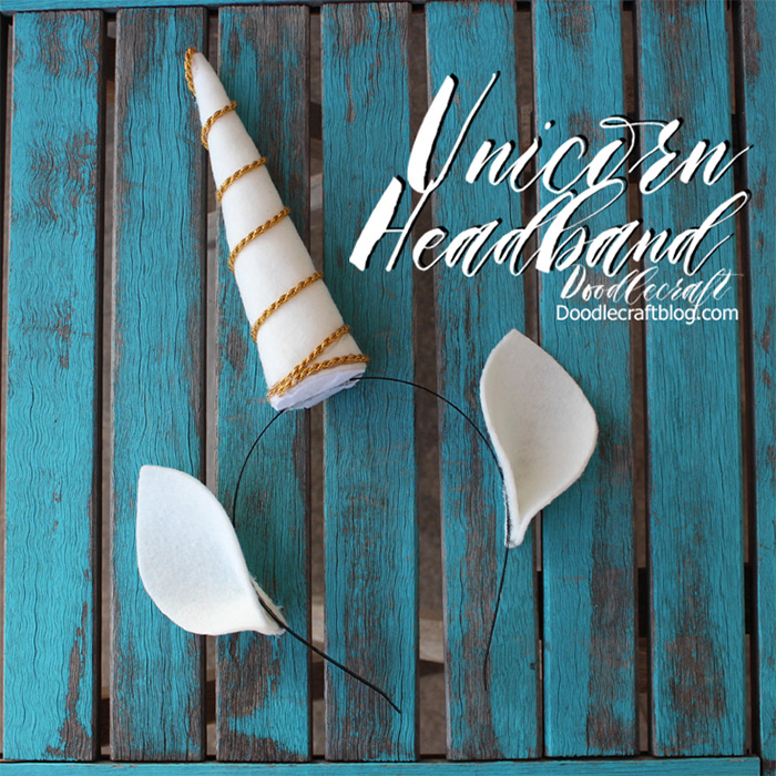 unicorn diy headband