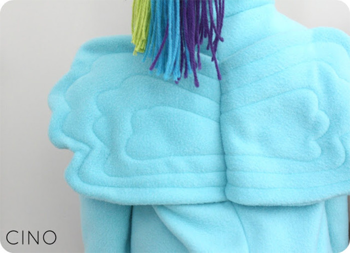Handmade Rainbow Dash outfit