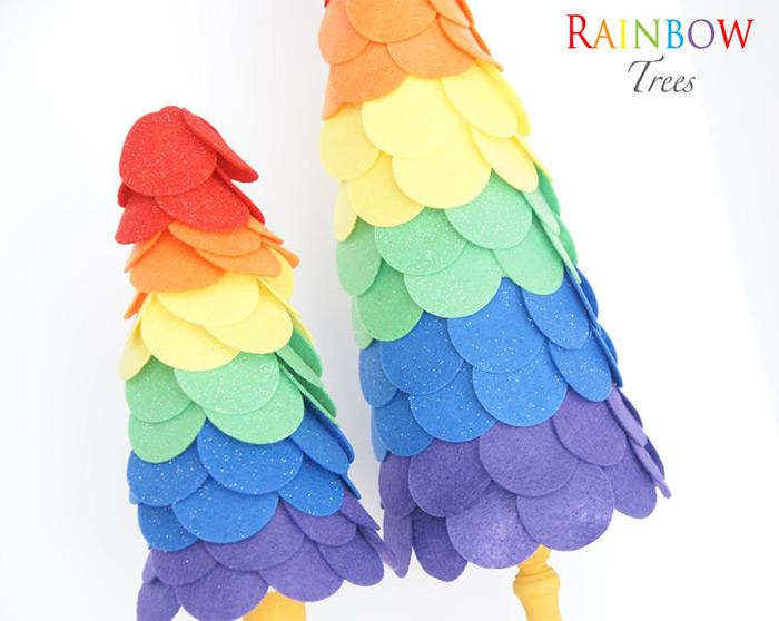mlp rainbow topiary