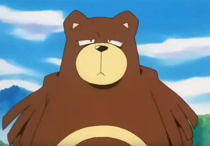 Ursaring evolution from anime