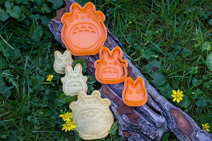 cookie cutter diy totoro style