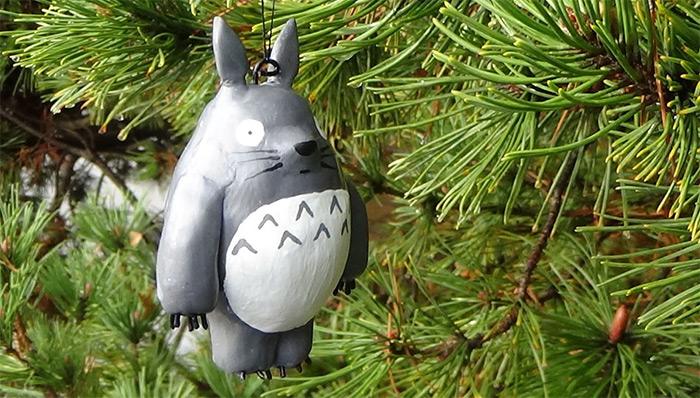 Handmade Totoro Ornament