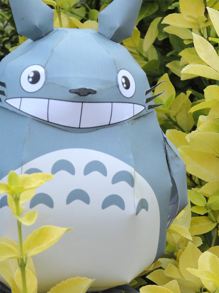 Totoro papercraft project