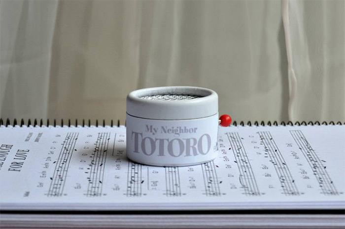 totoro music box handmade