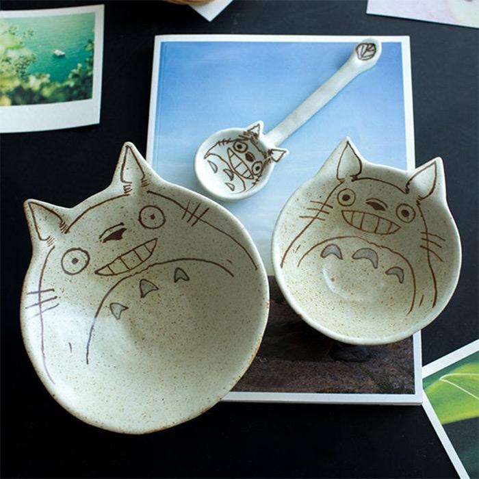 Totoro bowl for kids
