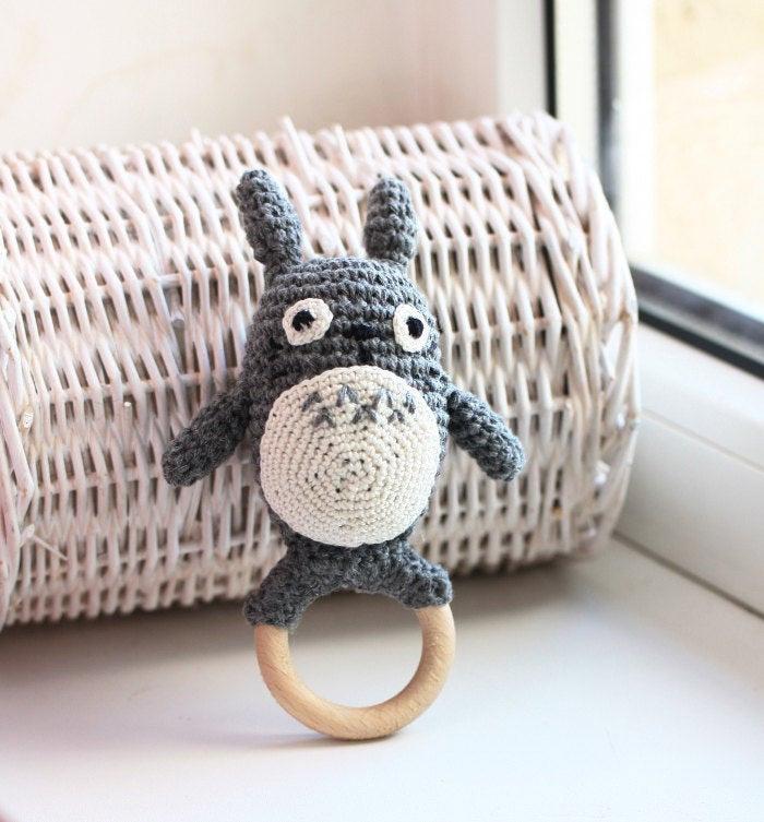 Totoro baby toy diy
