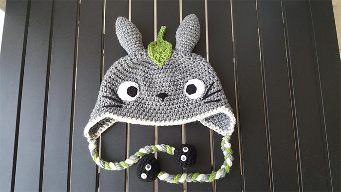 Totoro hat tassels