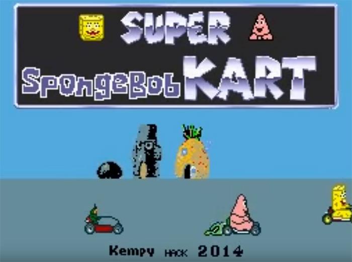 Super Spongebob Kart rom