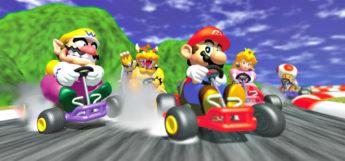Mario Kart 64 characters