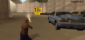 GTA San Andreas shooting weapon