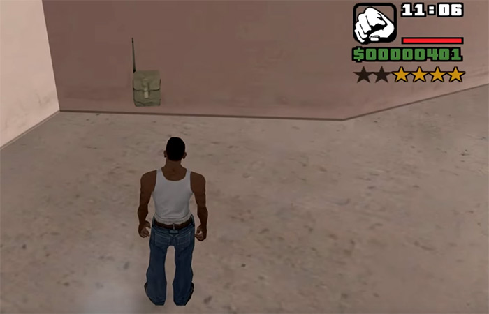 Satchel charges San Andreas weapon