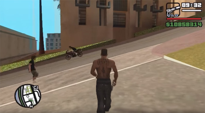 GTA San Andreas Silenced Pistol