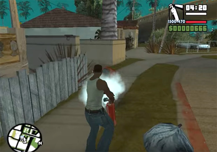 Fire extinguisher San Andreas