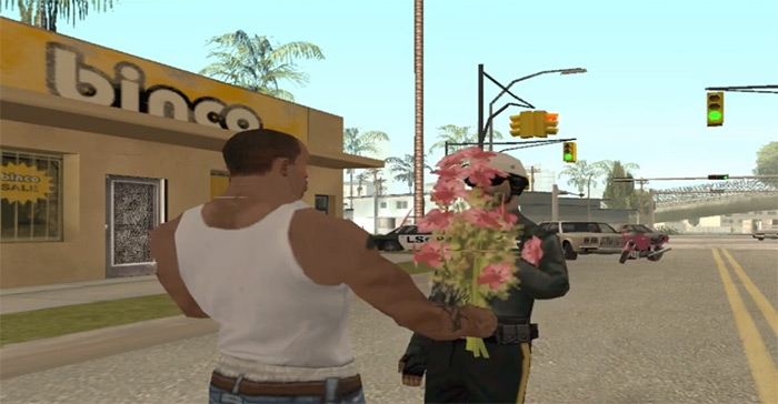 Flower boquet San Andreas